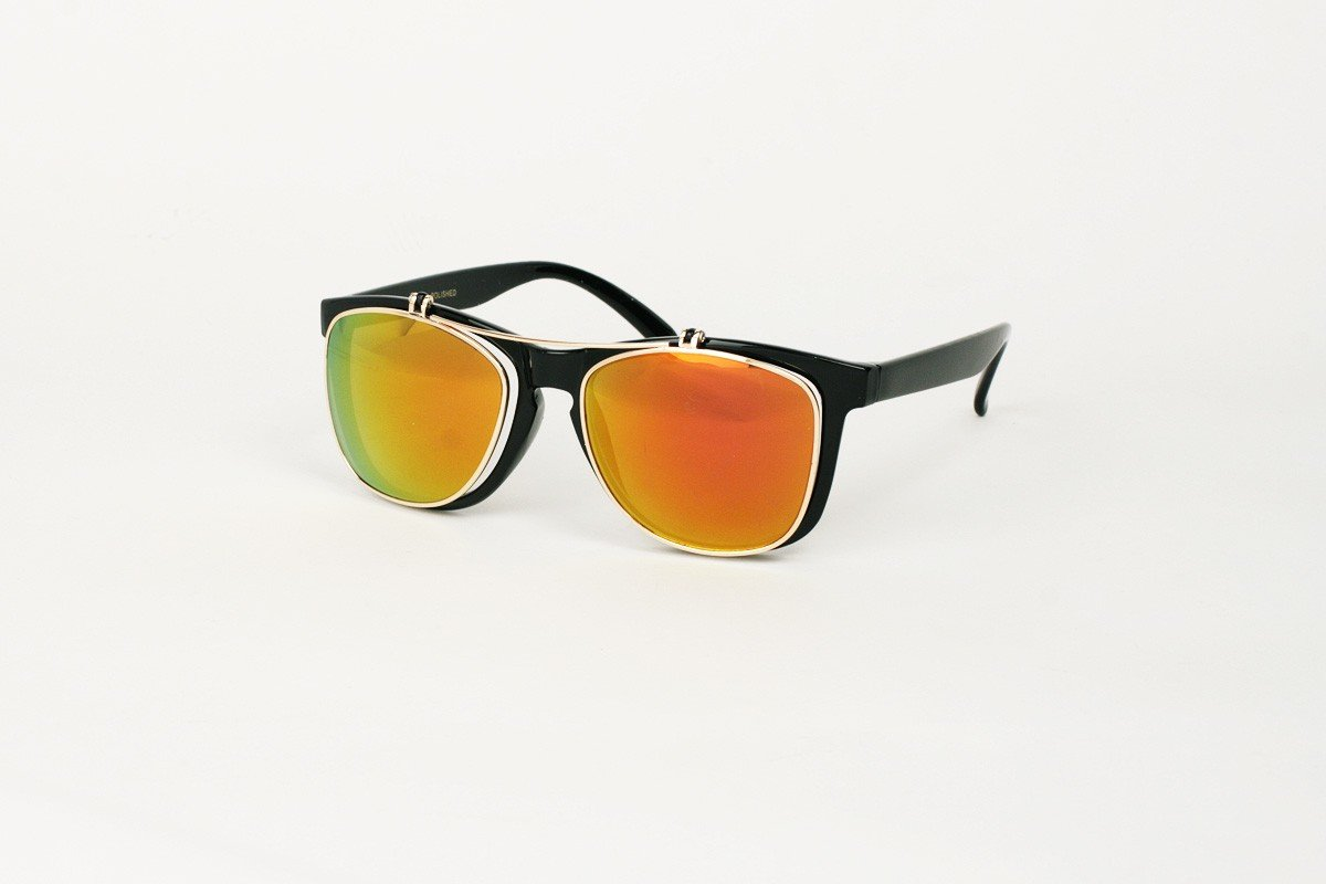 Wayfarer Steel Flip Orange-Svart