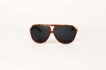 Aviator Checkers Orange