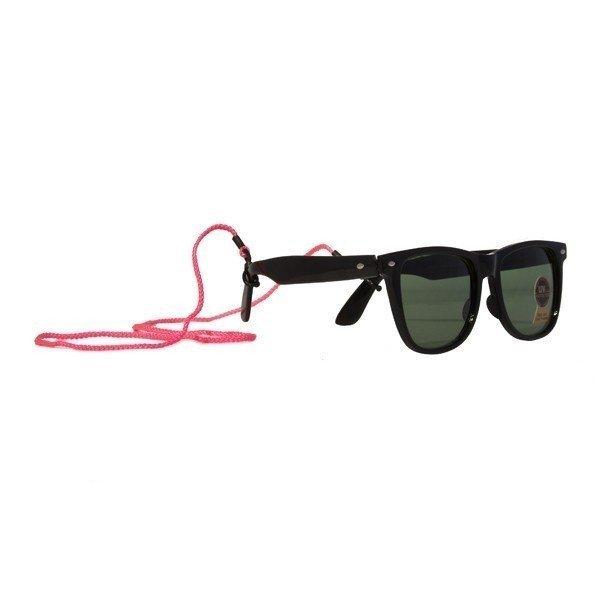 Glasögonsnodd Neonrosa