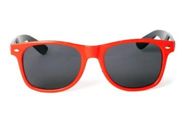 Wayfarer Bow Stripe Röd