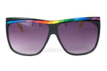 Rainbow Shield II Svart Gul