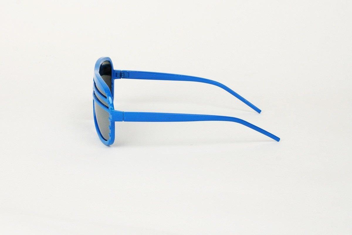 Semi Shutters Mirror Blå