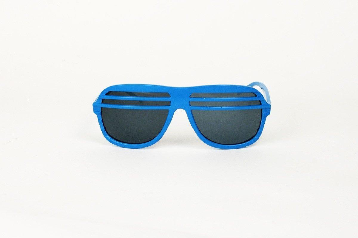 Semi Shutters Blå