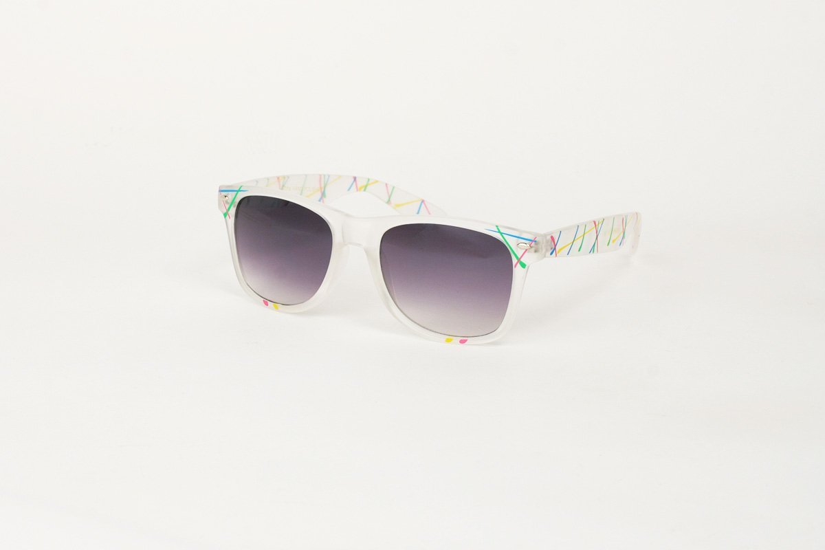 Wayfarer Splash Transparent