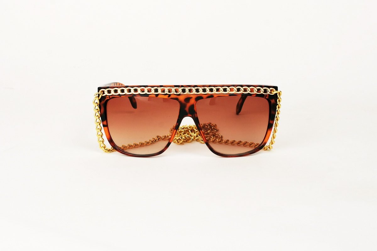 Gaga Chain Massive Tortoise-Guld
