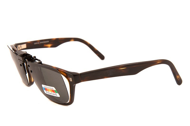 Clip-on Polarized WF Svart