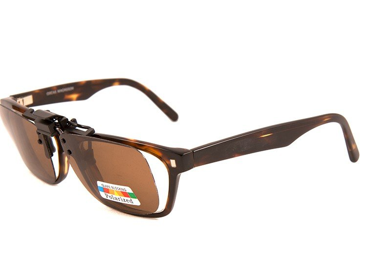 Clip-on Polarized WF Brun